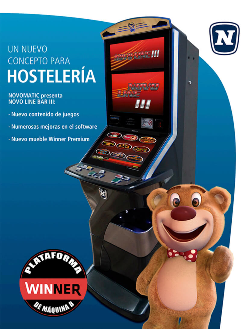 Máquina recreativa Novoline
