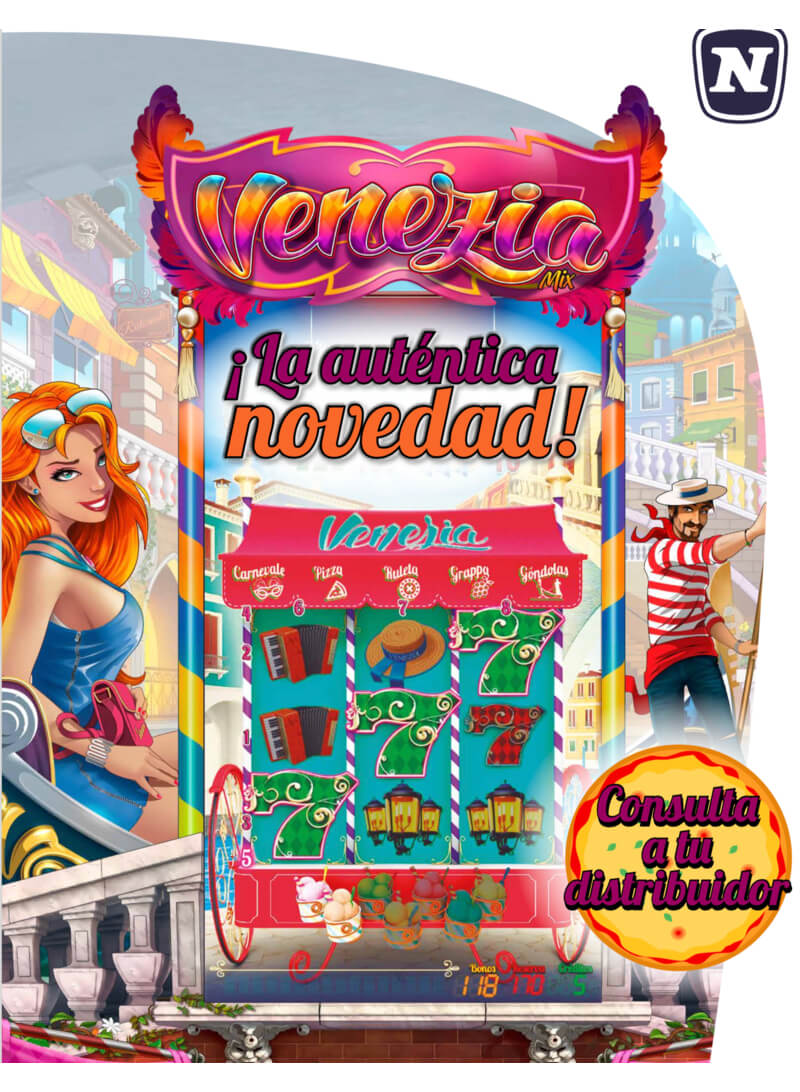 Máquina recreativa Venezia